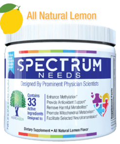 Lemon Flavored Spectrum Bottle