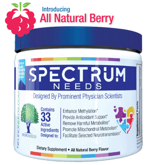 Spectrum Needs All Natural Berry