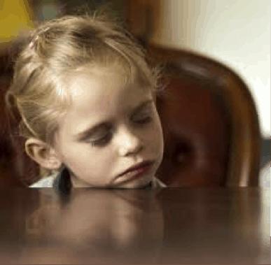 Description: Image result for fatigued child